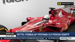 Jelang GP Inggris, Ferrari akan Uji Coba Perisai Kokpit