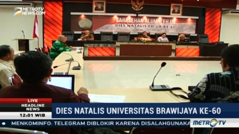 Universitas Brawijaya Usulkan Pembaruan Kurikulum Kuliah Hukum
