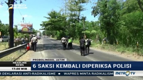 Polisi Gelar Olah TKP Lanjutan Kecelakaan Maut di Probolinggo