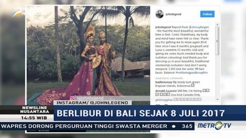 Liburan John Legend di Bali Banjir Pujian Netizen