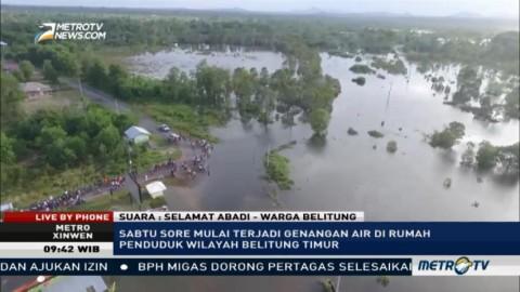 Warga Belitung Timur Khawatir Bendungan Pice Jebol