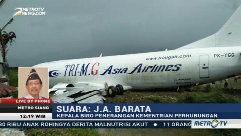 Tak Ada Korban Jiwa dalam Tergelincirnya  Pesawat Kargo di Wamena