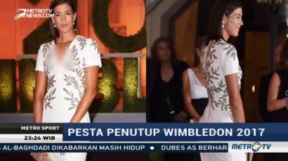 Federer dan Muguruza Berdansa di Wimbledon Champions Dinner