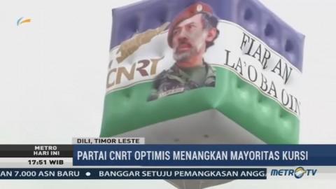 Partai CNRT Optimis Menangkan Mayoritas Kursi Parlemen Timor Leste