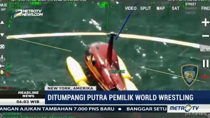 Helikopter yang Ditumpangi Putra Pemilik WWE Mendarat Darurat di Laut