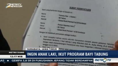 Bayi Tabung Lahir Tak Sesuai Keinginan, Pasutri di Surabaya Gugat Dokter