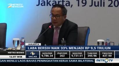 Laba Bersih Bank Mandiri Naik 33% di Triwulan II 2017