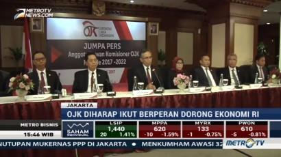 DK Baru OJK Diharapkan Tingkatkan Pertumbuhan Ekonomi Indonesia