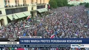 14 Ribu Warga Polandia Demo Tuntut Perubahan Kekuasaan