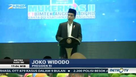 Ini Alasan Jokowi Kenakan Sarung Saat Hadiri Mukernas PPP