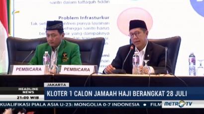 Kloter Pertama Jemaah Haji Berangkat 28 Juli 2017