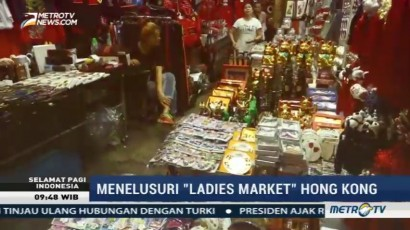 Menelusuri Ladies Market Hong Kong