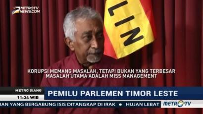 Ini Masalah Utama Pembangunan di Timor Leste Menurut Mari Alkatiri