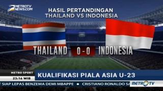 Timnas Indonesia U-22 Ditahan Imbang Thailand