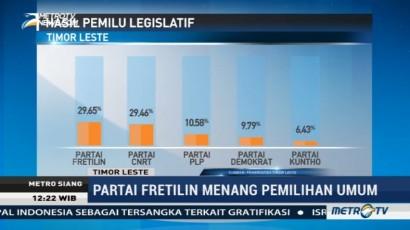 Fretilin Menang Pemilu Legislatif Timor Leste