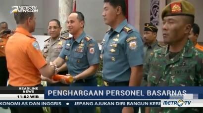Basarnas Beri Penghargaan untuk 500 Personel