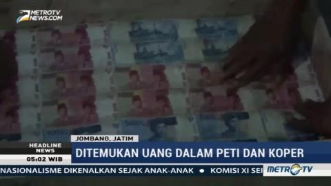 Warga dan Petugas Gerebek Dukun Pengganda Uang di Jombang