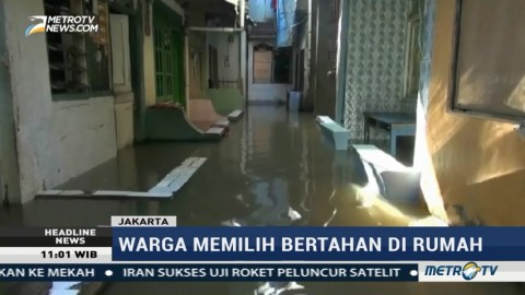 Bogor Hujan, Kampung Melayu Masih Terendam