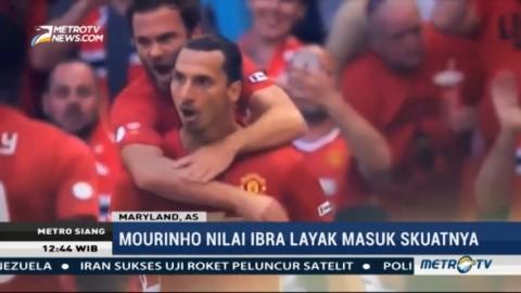 Sinyal Zlatan Ibrahimovic Kembali Perkuat MU