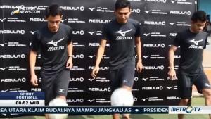 Striker Liga 1, Dias dan Dendy Adu Skill Juggling