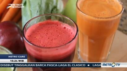 Cara Minum Jus Buah dan Sayur yang Benar