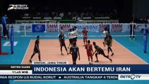 Timnas Voli Indonesia Kalah Telak dari Jepang