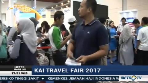 Antusiasme Pengunjung Berburu Tiket Kereta Api Murah di KAI Travel Fair