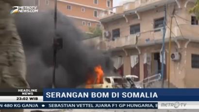 Bom Mobil Meledak di Somalia, Lima Tewas