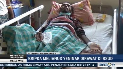 Polisi Pedalaman Penderita Penyakit Kronis Dirujuk ke Jakarta