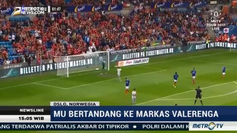 Laga Pra Musim, Man United Menang atas Valerenga 3-0