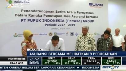 Pupuk Indonesia Grup Jalin Kerja Sama Asuransi Bersama
