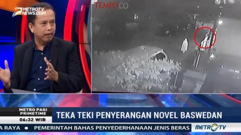 IPW Yakin Polisi Tak Terlibat Teror Terhadap Novel