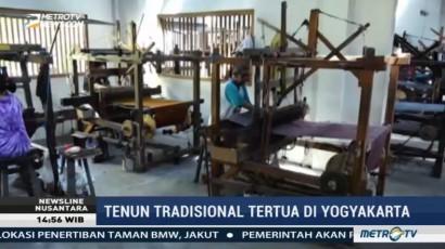 Melihat Pembuatan Tenun Tradisional Tertua di Yogyakarta