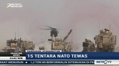 Taliban Akui Bertanggung Jawab atas Tewasnya 15 Tentara NATO