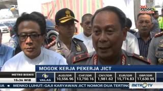 Wakapolda Metro Jaya Tinjau Aksi Mogok Kerja di Terminal JICT