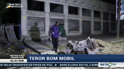 Serangan Bom Mobil Tewaskan Dua Orang di Somalia
