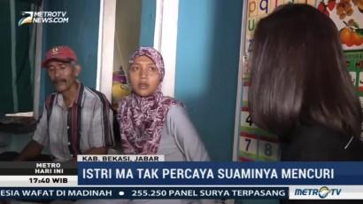 Istri Korban Main Hakim Sendiri Tak Percaya Suaminya Mencuri