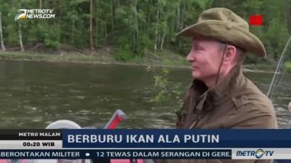 Berburu Ikan ala Vladimir Putin