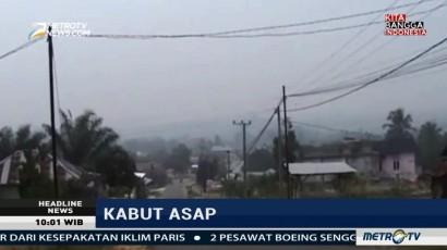 Kabut Asap di Merangin Menebal, Jarak Pandang 800 Meter