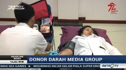 Metro TV & Media Group Gelar Donor Darah
