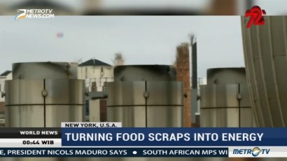 Turning Food Scraps Into Energy in New York City