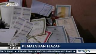 Polisi Gerebek Tempat Pembuatan Ijazah Palsu di Tambora