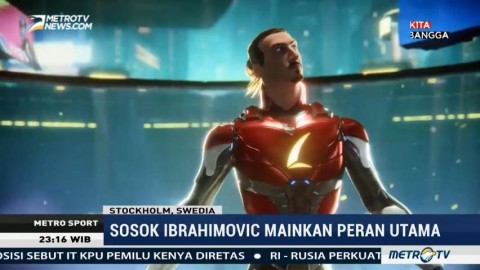 Ibrahimovic Merambah Bisnis Video Game