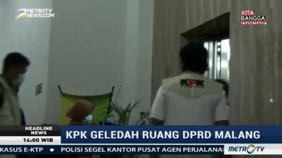 KPK Geledah Ruang DPRD Malang