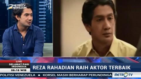 Reza Rahadian: Penghargaan Ini Hadiah untuk Industri Film Indonesia