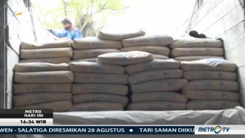 Pasokan Semen Langka di Aceh