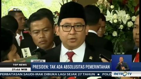 Fadli Zon Kritik Pidato Jokowi Soal Tak Ada Kekuasaan Absolut