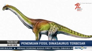 Fosil Dinosaurus Terbesar Ditemukan di Argentina