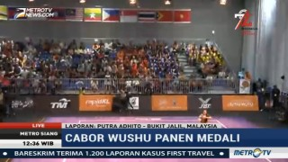 Indonesia Tambah Medali Emas dari Wushu