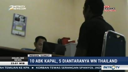 Sepuluh ABK Kapal Berbendera Malaysia Ditahan